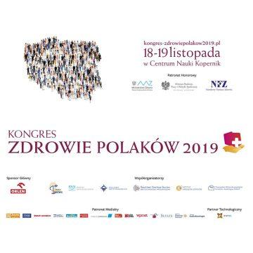 """Kongres """"Zdrowie Polaków 2019"""""""